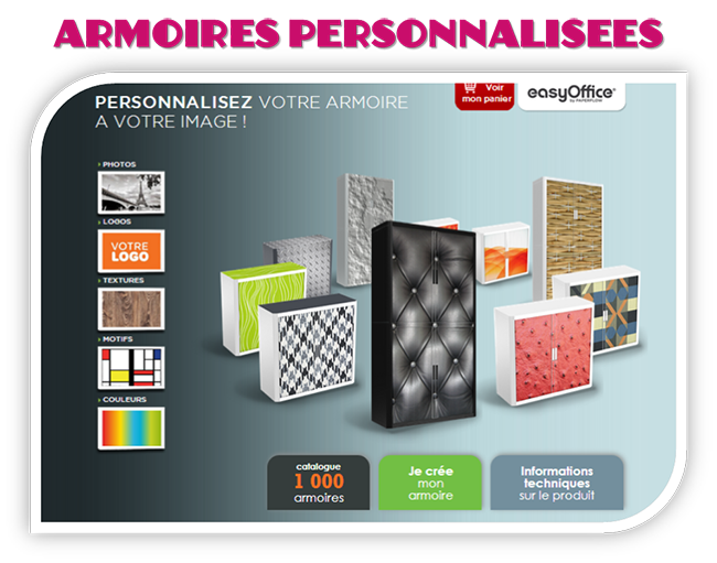 armoires persos